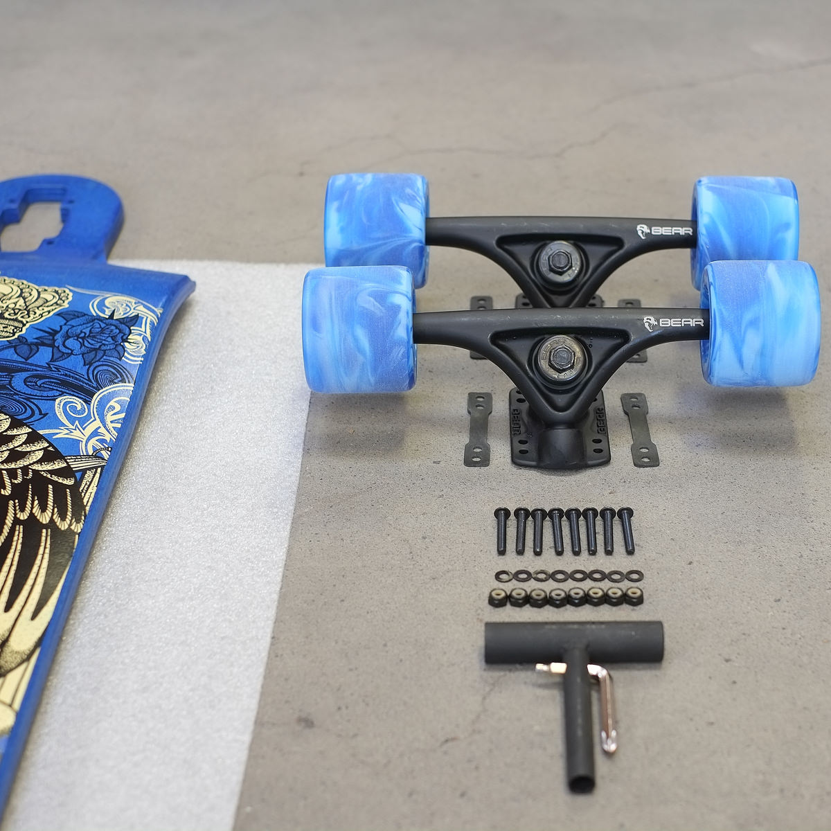 Diy How To Assemble A Drop Through Deck The Longboard Store