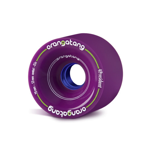 Orangatang 4president 70mm 83a Purple Wheels The