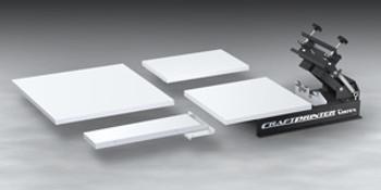Vastex Craftprinter Tabletop 1 Station 1 Color Press