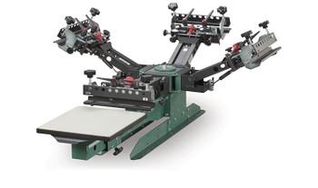 Vastex V-2000HD Tabletop 1 Station 6 Color Press