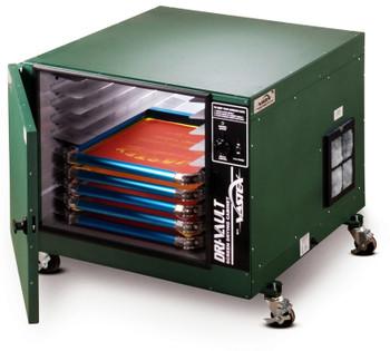 Vastex 10 Screen Dri-Vault Cabinet w/ Digital Controller