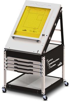 Vastex Pin Registration System - Automatic Press VRS w/ drawers
