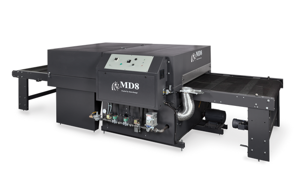 """Workhorse MD8 Series 60"""" Gas Dryer (1,000+ Pieces per Hour)"""