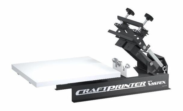 Vastex Craftprinter Tabletop 1 Station 1 Color Press with Pallet Kit