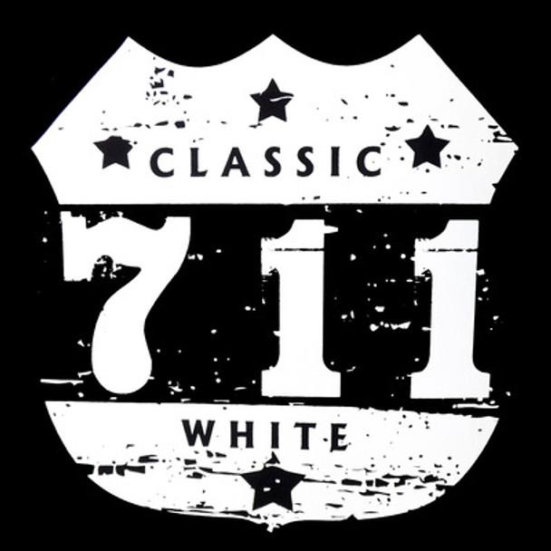 711 Lo-Bleed Classic White