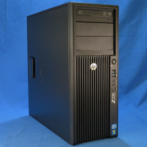 Desktop - HP Z220 Workstation - Xeon E3-1225