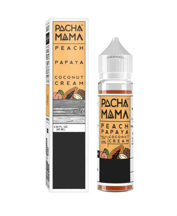 Peach Papaya Coconut Cream 60mL | ecigforlife