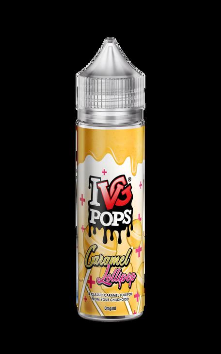 IVG | Pops | Caramel Lollipop | ecigforlife