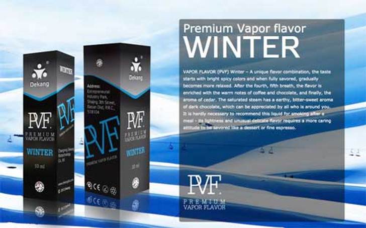 Dekang PVF Winter ecigforlife electronic cigarette starter kit