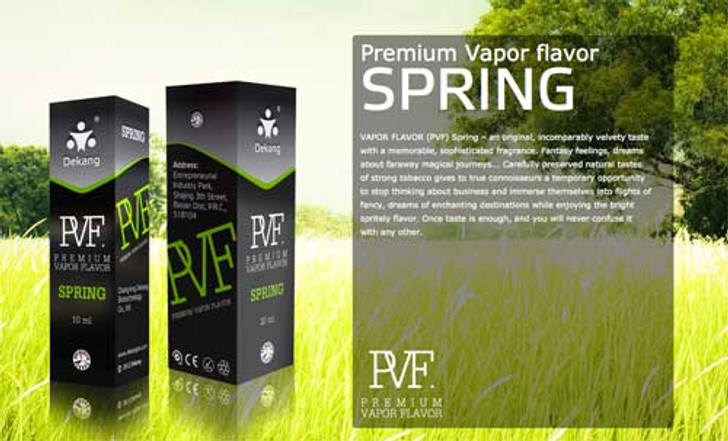 Dekang PVF Spring ecigforlife electronic cigarette starter kit