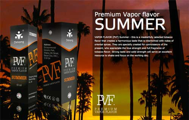 Dekang PVF Summer ecigforlife electronic cigarette starter kit