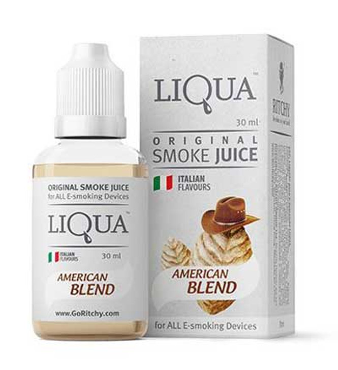 Liqua American Blend Tobacco smokejuice and e-liquids