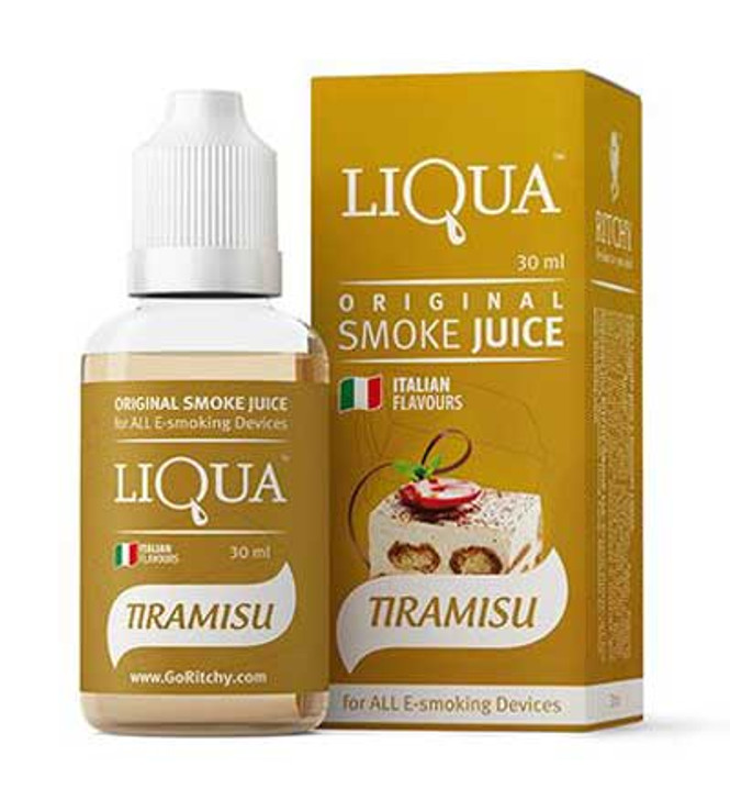 Liqua Tiramisu smokejuice and e-liquids
