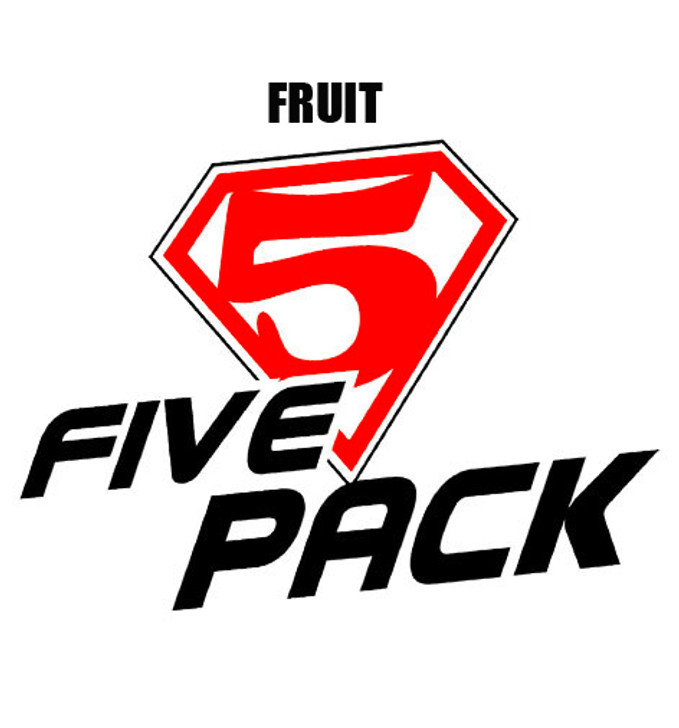 five pack fruit personal vapourizer eliquid