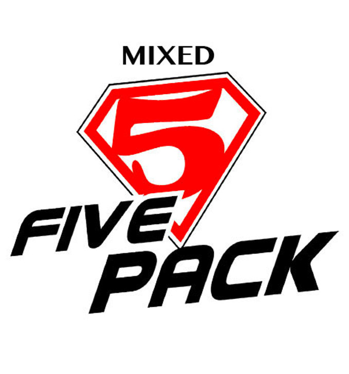 five pack mixed personal vapourizer eliquid