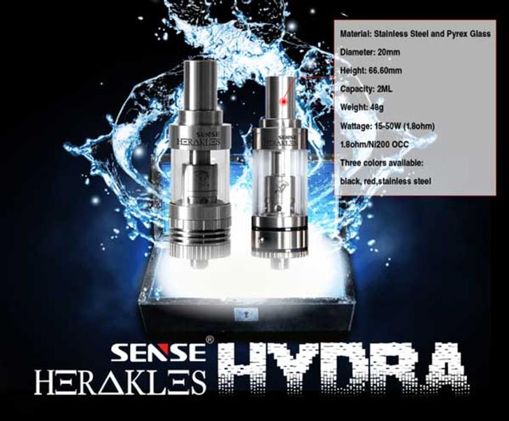 Hydra Sense clearomiser for ecigforlife
