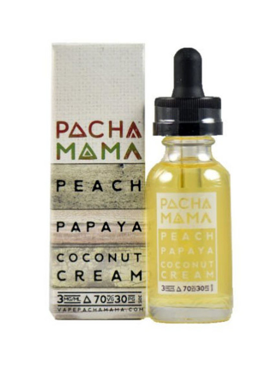 Patcha Mama Peach Papaya Coconut Cream for ecigforlife