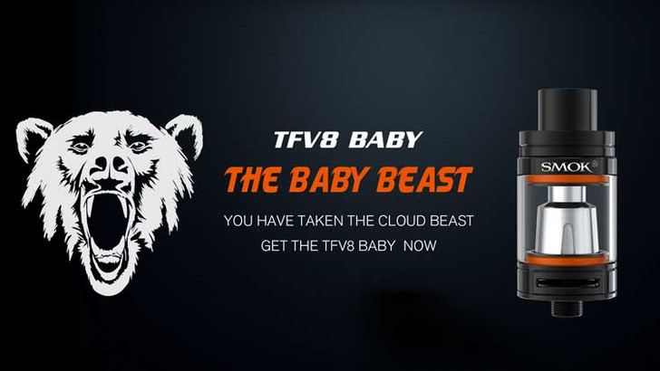SMOK TFV8 BABY ecigforlife