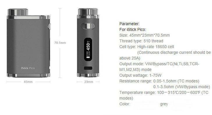 Pico Mod Battery Eleaf