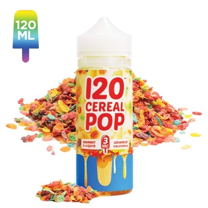 120 CEREAL POP BY MAD HATTER JUICE 120ML   ecigforlife