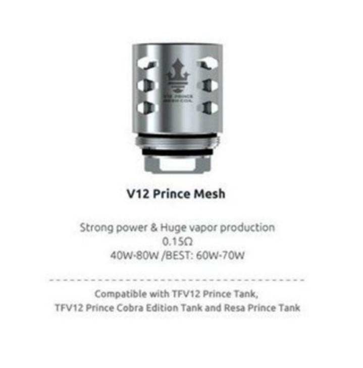 SMOK TFV 12 Prince Mesh Coils 0.15 Ohm