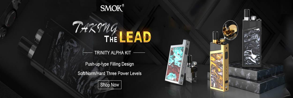 Smok Trinity Alpha Vaping at ecigforlife