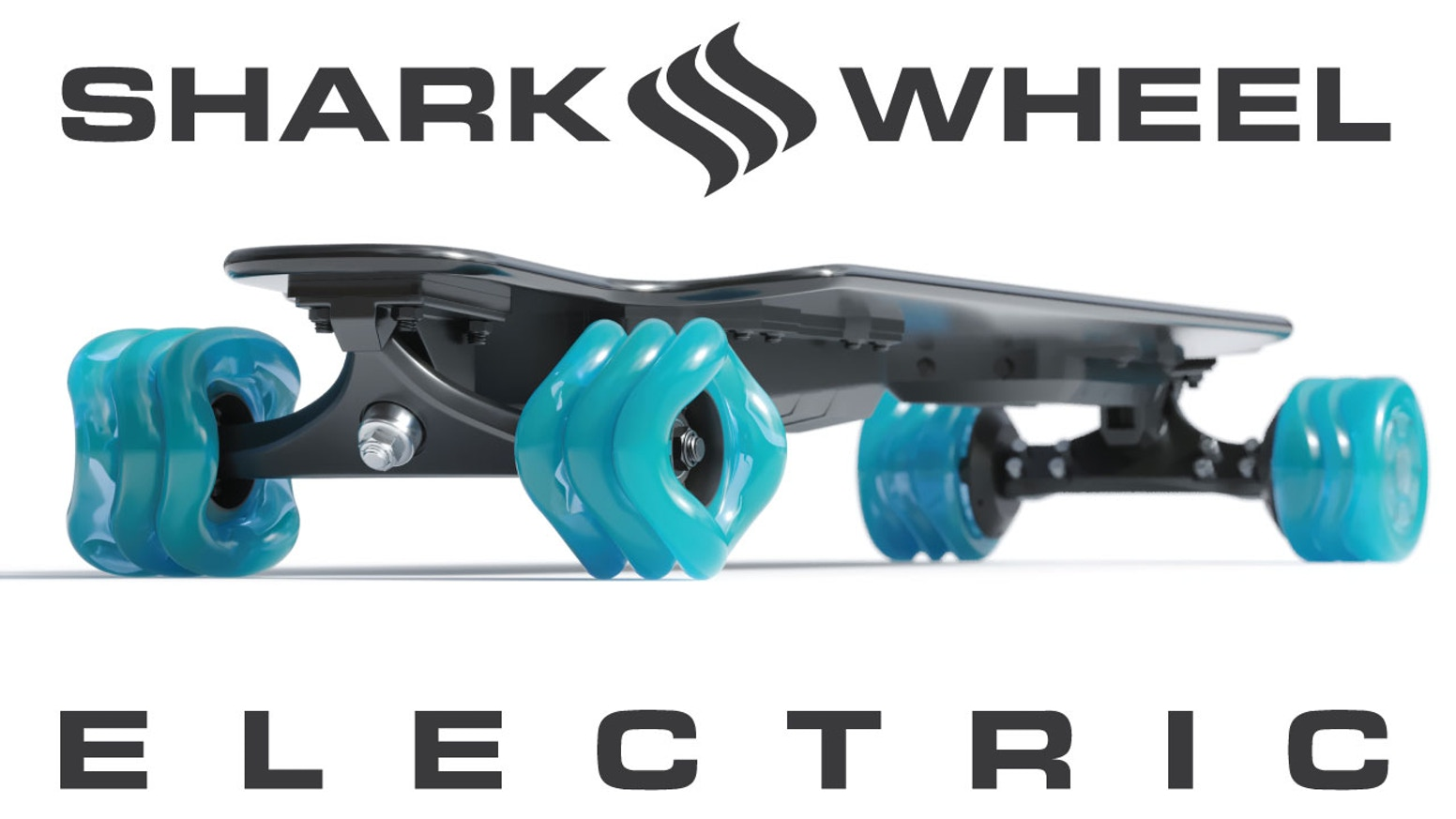 Shark Electric THIN with Black Wheels (11 mile range, in stock - 12 month payment plan available)