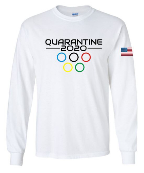 Quarantine Olympics Unisex Long SleeveTee
