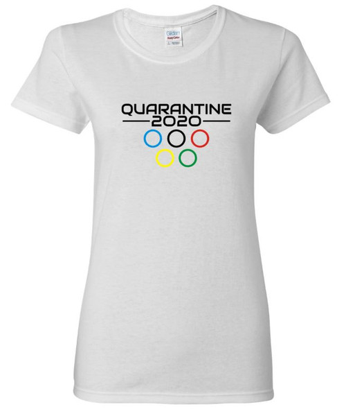 Quarantine Olympics Women's Rings Tee