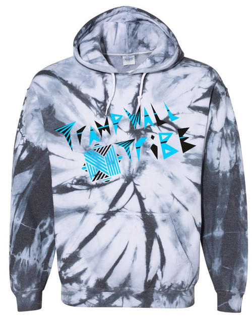TWT Tie Dye Hoodie Original Logo