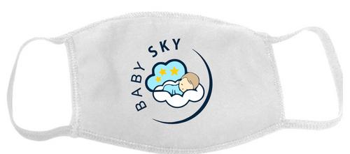 Baby Sky Face Mask