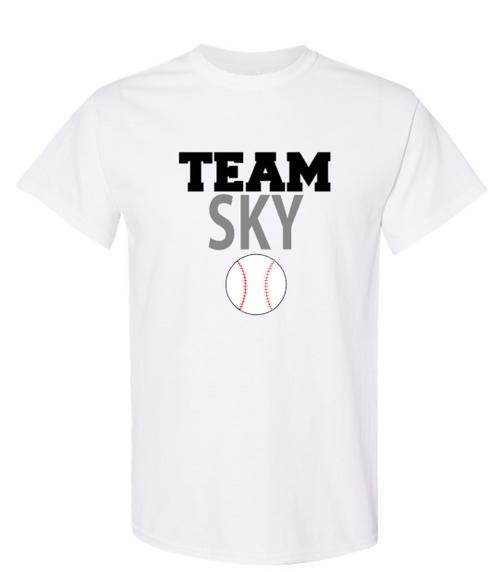 Team Sky Unisex Short Sleeve Tee