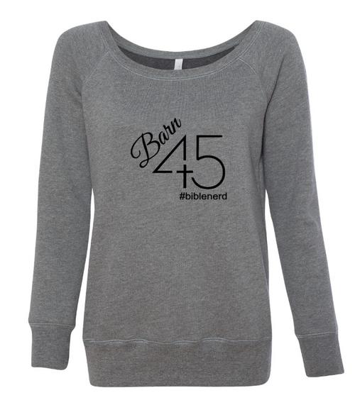 Barn 45 Wide Neck Women's Sweatshirt