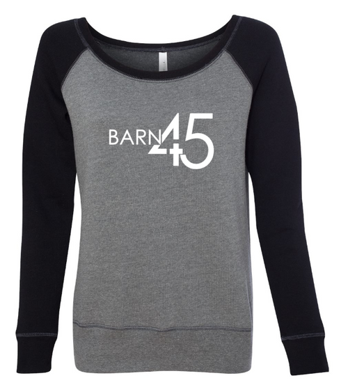 Barn 45 Wide Neck Raglan Women's Sweatshirt