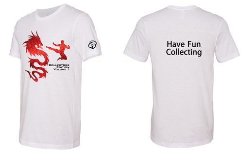 Charles Damiano White Collectors Tee