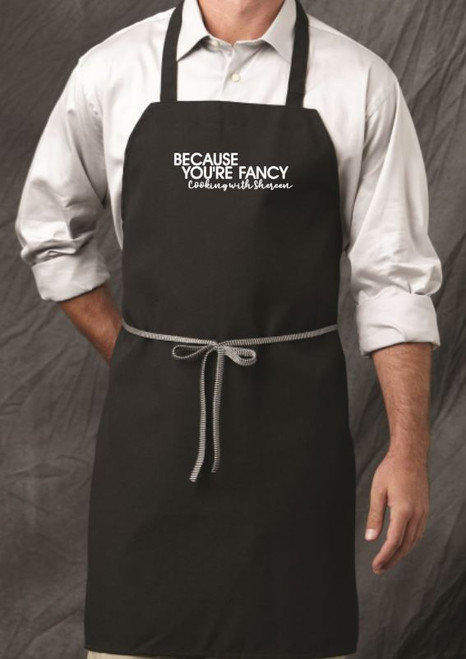 Cooking with Shereen Bib Apron