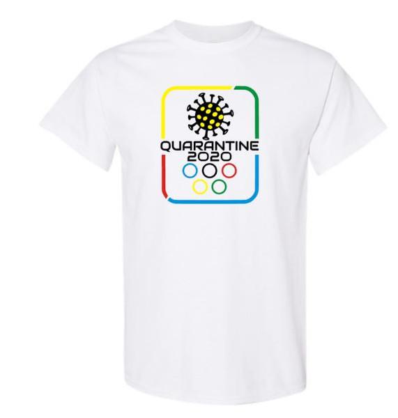 Quarantine Olympics Covid Unisex Tee