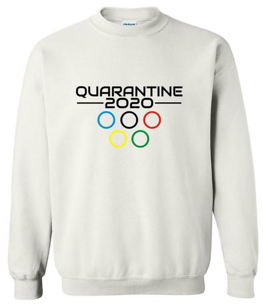 Quarantine Olympics Unisex Crew Neck Sweatshirt
