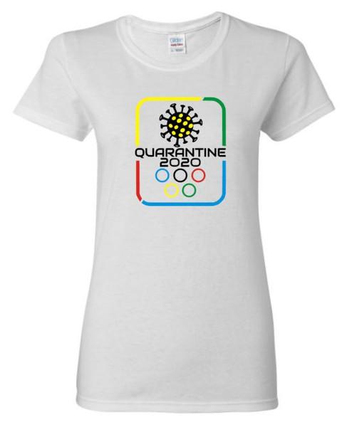 Quarantine Olympics Covid Women's Tee