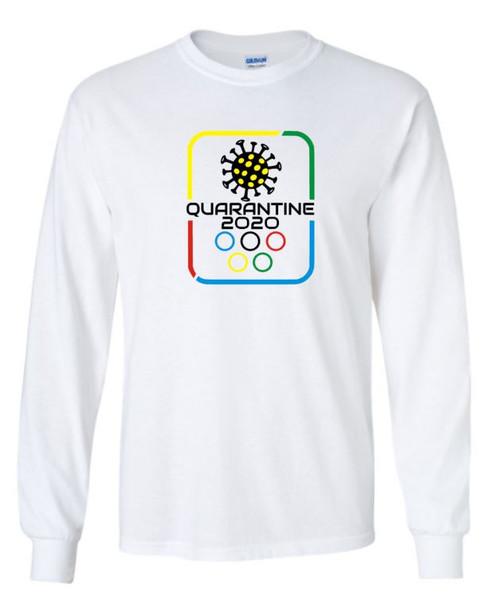 Quarantine Olympics Covid Unisex Long SleeveTee