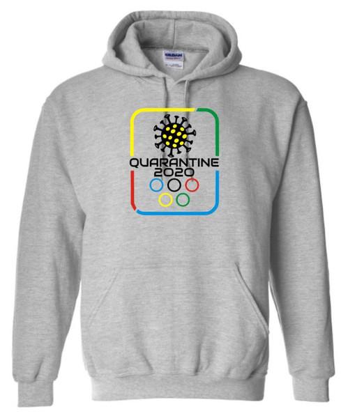 Quarantine Olympics Covid Unisex Hoodie