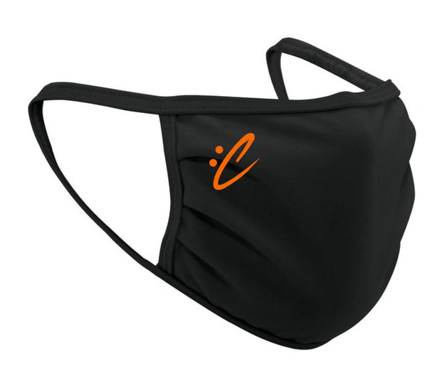 :Composer Orange Logo Face Mask
