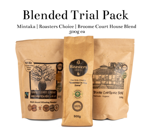 Blended Coffee Trial Pack 3 x 500g (Save $22)