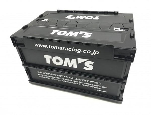 TOM'S Racing JDM Collapsable Container Box - Large - 50L