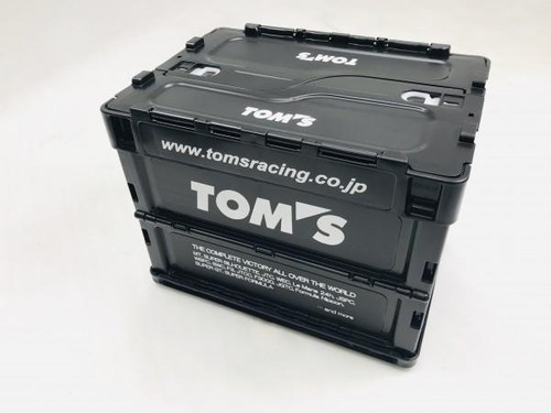 TOM'S Racing JDM Collapsable Container Box - Small - 20L