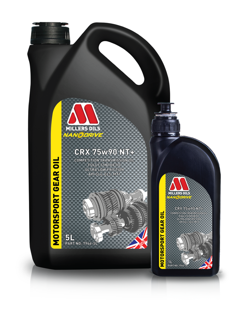 Millers Oils Crx 75w90 Nt Competition Fully Synthetic Transmission Oil