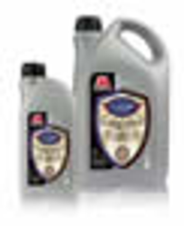Solvent refined base oil with four fold additive treatment.