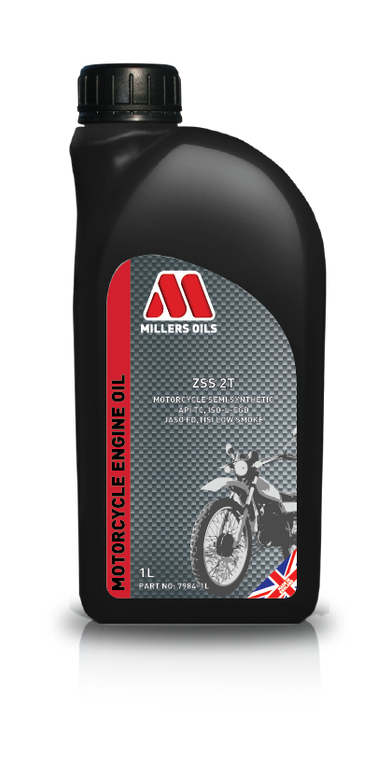 ZFS 2T  Fully synthetic 2 stroke motorcycle engine oil