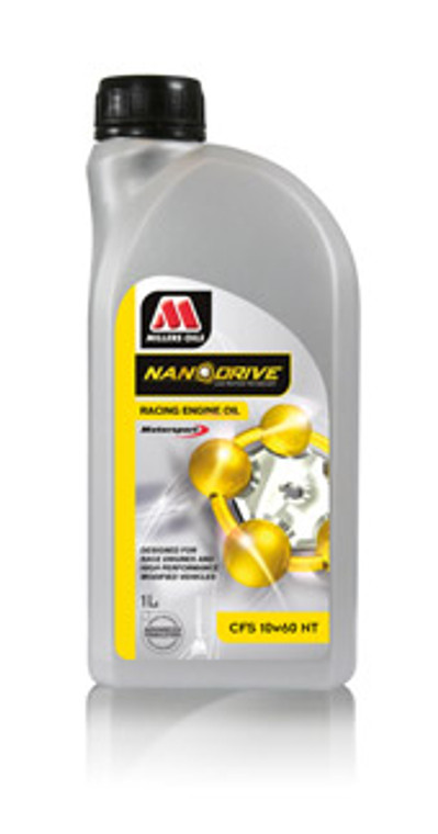 Fully synthetic Triple Ester Nano Technology ultra low friction formulation. For larger race and rally engines, with or without turbochargers, especially where subject to severe and high stress conditions.