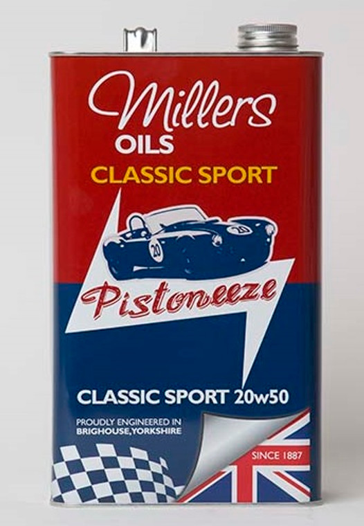 Semi synthetic engine oil for classic performance and sports car engines. Extra high performance engine oil based on highest quality performance additives and shear stable viscosity improvers in synthetic and mineral base.